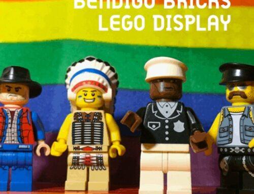 Bendigo Bricks LEGO Display